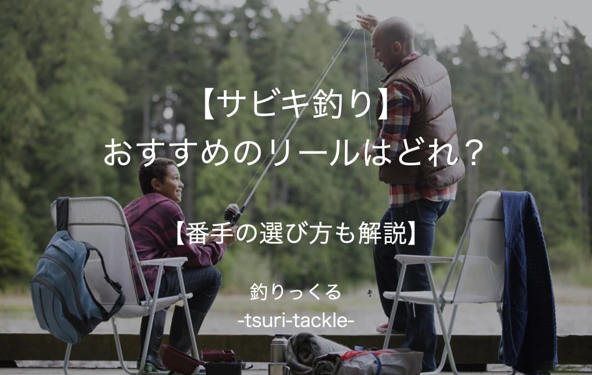【サビキ釣り】おすすめのリールはどれ?【番手の選び方も解説】